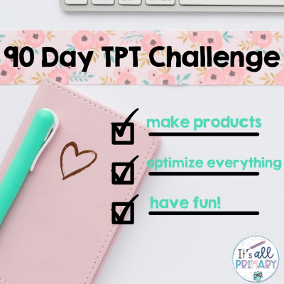 90 Day TPT Challenge – May 2021